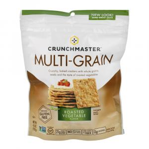Crunchmaster Multi Grain Roasted Vegetable Cracker