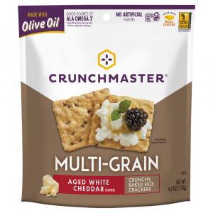 Crunchmaster Multi-Grain Cracker Aged White Cheddar