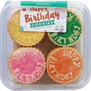 Cookie Crush Happy Birthday Cookies