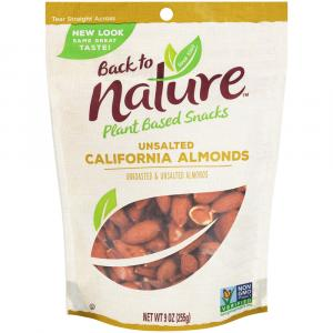 Back to Nature Unroasted Unsalted Almonds