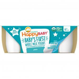 Happy Baby Organic Plain Yogurt