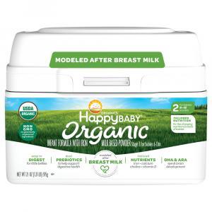 Happy Baby Organic Stage 2 Infant Powder Formula with Iron