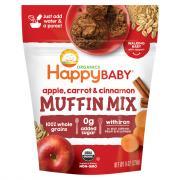 Happy Baby Organics Apple, Carrot & Cinnamon Muffin Mix
