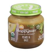 Happy Baby Stage 2 Jar Pears & Kale