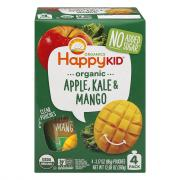 Happy Kid Organic Apple, Kale & Mango Pouches