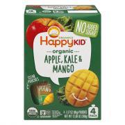 Happy Kid Organic Apple, Kale & Mango Pouches