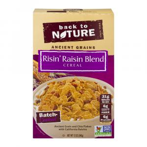 Back To Nature Risin' Raisin Blend Cereal
