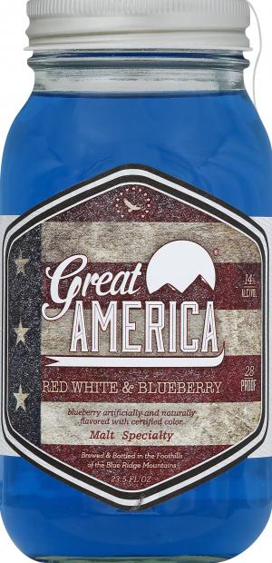 Great American Red and White and Blueberry