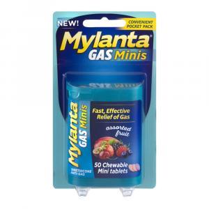 Mylanta Anti-Gas Assorted Fruit Chewable Mini Tablets