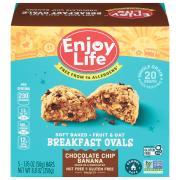 Enjoy Life Gluten Free Breakfast Ovals Chocolate Chip Banana