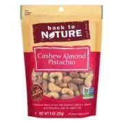 Back to Nature Cashew Almond Pistachio Mix
