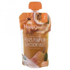 Happy Baby Pears, Pumpkin & Passionfruit Organic Baby Food