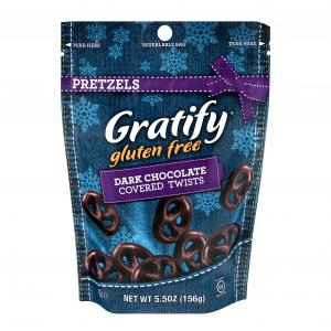Gratify Pretzels Dark Chocolate Covered Twists