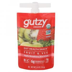 Gutzy Energyfruits Strawberry Kiwi Kale Organic Prebiotic