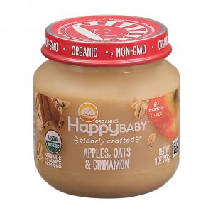 Happy Baby Stage 2 Jar Oats & Cinnamon