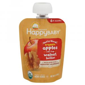 Happy Baby Organic Nutty Blends Apples with Walnut Butter