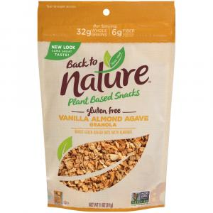 Back to Nature Vanilla Almond Agave Granola