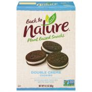 Back to Nature Double Classic Creme Cookies