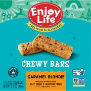 Enjoy Life Caramel Blondie Baked Chewy Bars