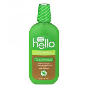 Hello Hemp Seed Natural Fresh Spearmint Mouthwash