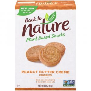 Back to Nature Peanut Butter Sandwich Cookies