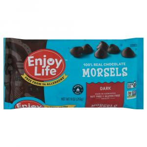 Enjoy Life Dark Chocolate Regular Size Morsels
