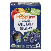 Happy Kid Organic Apple, Kale & Blueberry Pouches