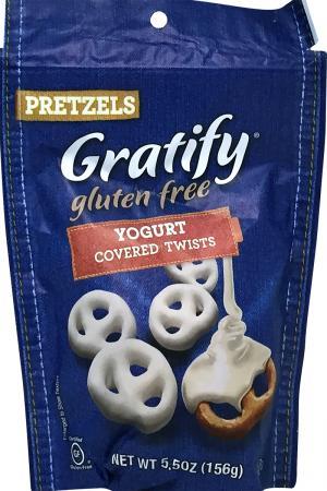 Gratify Gluten Free Pretzels Yogurt Covered Twist