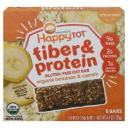 Happy Tot Fiber & Protein Organic Bananas & Carrots
