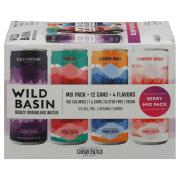 Oskar Blues Wild Basin Boozy Sparkling Water Berry Mix Pack