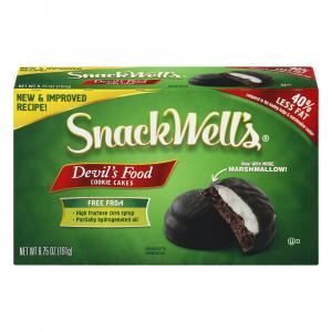 Snackwell's Devil Food Cake Cookies