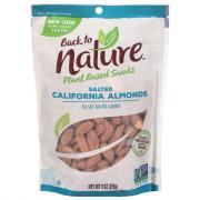 Back to Nature Sea Salt Roasted Almonds