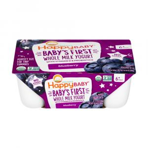 Happy Baby Organic Blueberry Yogurt
