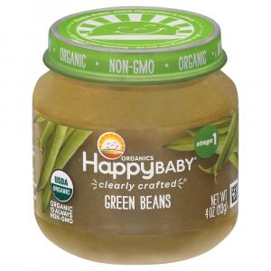 Happy Baby Stage 1 Baby Food Green Beans