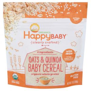 Happy Baby Oats & Quinoa Baby Cereal