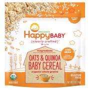 Happy Baby Organic Oats & Quinoa Baby Cereal