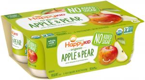 Happytot Organic Pear & Apple Yogurt