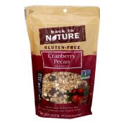 Back to Nature Cranberry Pecan Granola