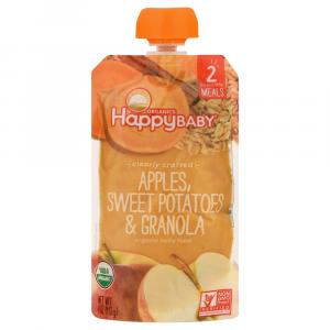 Happy Baby Clearly Crafted Apples Sweet Potato And Granola