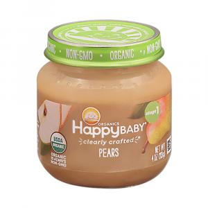 Happy Baby Stage 1 Baby Food Pears