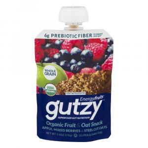 Energyfruits Gutsy Apple Mixed Berry With Steel Cut Oats