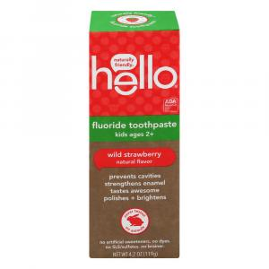 Hello Kids Wild Strawberry Toothpaste