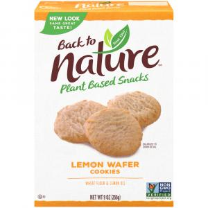 Back To Nature California Lemon Cookies