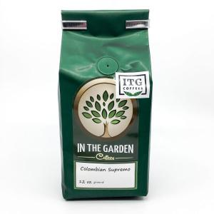 In The Garden Coffees Colombian Supremo Ground Coffee