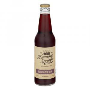 Harmony Springs Black Cherry Soda