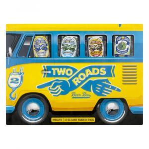 Two Roads Beer Bus Variety