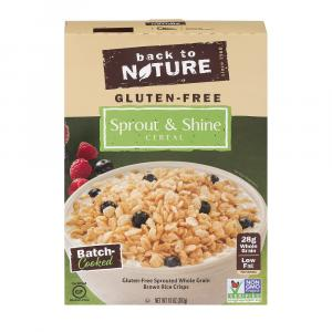 Back To Nature Gluten-free Sprout & Shine Cereal