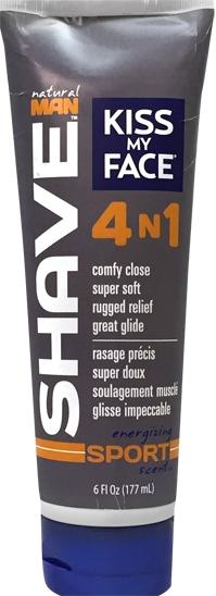 Kiss My Face 4 In 1 Energizing Sport Scent Shave Cream