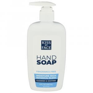 Kiss My Face Fragrance Free Liquid Moisture Soap