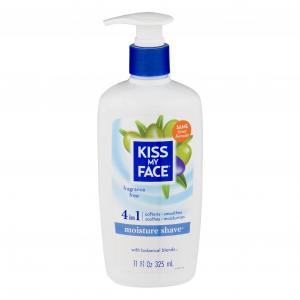 Kiss My Face 4 In 1 Moisture Shave Cream